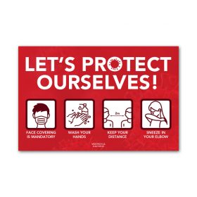 Let's protect ourselves - Red