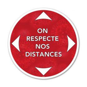 On respecte nos distances