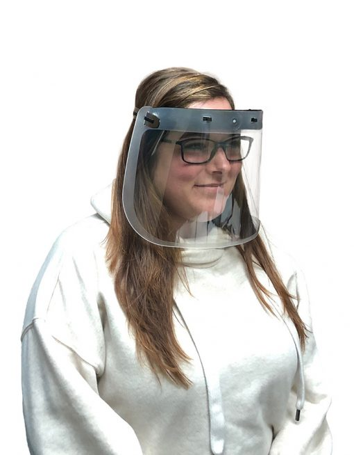 Personal face shield